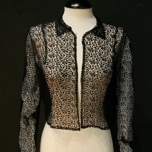 Lace blouse for woman #B3401