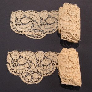 Lace strip 222 x 7,6 cm #A1916
