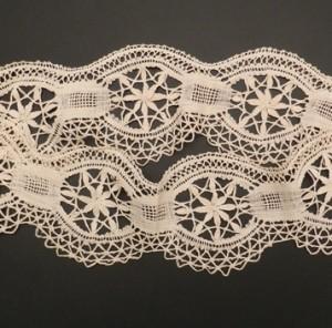 Antique bobbin lace flounce (Spain) 94 x 11 cm