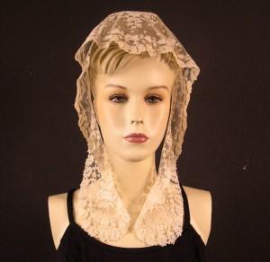 Bridal headdress 24 x 93 cm