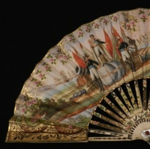 Antique fan from the time of Fernando VII, Spain, h. 1820-1823 #D0308