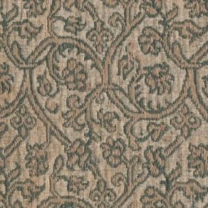 Brocatel de lises y palmetas anilladas en dos piezas 96 x 20 cm y 115 x 20 cm #C.19.01